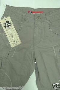 MOLECULE ORIGINAL COTTON CARGO GREEN SHORTS SZ S