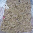 MOLECULE ORIGINAL COTTON CARGO SHORTS SAHARA BEIGE SZ L
