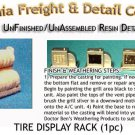 TIRE DISPLAY RACK (1pc) N/Nn3/1:160-Scale CALIFORNIA FREIGHT & DETAILS