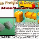 LARGE TARP COVERED LOADS (3pcs) N/Nn3/1:160-Scale CAL FREIGHT *NEW
