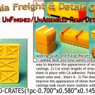 BOXCAR LOAD-CRATES (1pc) N/Nn3/1:160-Scale CALIFORNIA FREIGHT & DETAILS *NEW*