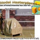 CANVAS COVERED MACHINERY/PALLETED (1pc) SCALE MODEL MASTERPIECES/YORKE On3/On30