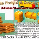 PALLETED SACKS (3pcs) N/Nn3/1:160-Scale CALIFORNIA FREIGHT & DETAILS