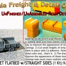 1973 CHEVY FLATBED PICKUP w/STRAIGHT SIDES KIT (1 Kit) N/Nn3-Scale CAL FREIGHT