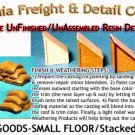 SACKS 'O GOODS-SM FLOOR-Stacked (4pcs) HO/HOn3/HOn30 Scale Model Masterpieces