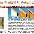 RELAY CABINETS (4pcs) HO/HOn3/HOn30-Scale CALIFORNIA FREIGHT & DETAILS *NEW*
