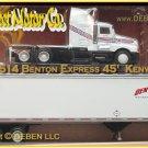 BENTON EXPRESS KENWORTH-45ft-PEM/TONKIN/HARTOY 1/64 NIB