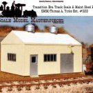 1950's Transition Era Pre-Fab Metal Track Scale Maint Shed Kit Yorke/SMM HO/HOn3