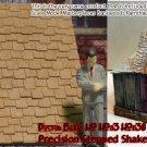 PRECISION STEPPED SHAKE SHINGLES Peel-n-Stik HO/HOn3/HOn30 1:87 Doctor Ben's