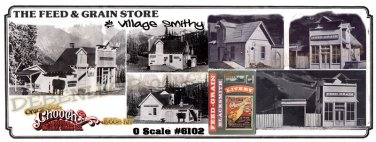The FEED & GRAIN STORE/VILLAGE SMITHY KIT CHOOCH MIB O/ON3/ON30