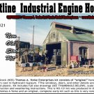 SHORTLINE 2-STALL ENGINE HOUSE NOS Kit Scale Model Masterpieces HO/HOn3 YORKE