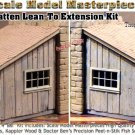 Board n' Batten Lean-To Extension Kit Yorke/Scale Model Masterpieces On3/On30