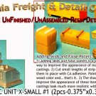 ROOFTOP A/C X-SMALL UNIT #1 (2pcs) N/Nn3/1:160-Scale CAL CAL FREIGHT & DETAIL