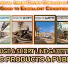 VOL 10, ISSUE 6 NOV/DEC 1984 NARROW GAUGE & SHORT LINE GAZETTE MAGAZINE