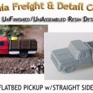 1975 FORD FLATBED PICKUP w/STRAIGHT SIDES KIT (1 Kit) N/Nn3-CAL FREIGHT