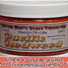 PACIFIC REDWOOD WEATHERING STAIN-4oz Doctor Ben's FLOQUIL REPLACEMENT WOOD/RESIN