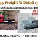 1961 FORD FLATBED PICKUP KIT (1 Kit) N/Nn3-Scale CALIFORNIA FREIGHT