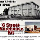 G-STREET WAREHOUSE NOS Kit YORKE/Scale Model Masterpieces HO/HOn3/HOn30