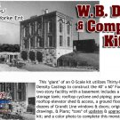 W.B. DAVIS & COMPANY *ANNIVERSARY* KIT 1:48/SMM/THOMAS A YORKE On2/On3/On30