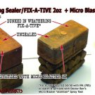 WEATHERING SEALER/FIX-A-TIVE COMBO SET-PERMANENT SEAL PIGMENT.POWDER.CHALK*HOn3
