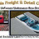 PLEASURE BOAT w/OPEN SEATING (1 Kit) N/Nn3-Scale CAL FREIGHT & DETAIL