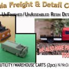 INDUSTRIAL WAREHOUSE/UTILITY CARTS (2pcs) N/Nn3/1:160-Scale CAL FREIGHT