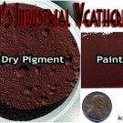 DARK DAMP RUST Doctor Ben's Industrial Weathering Pigment-2oz- READY-TO USE