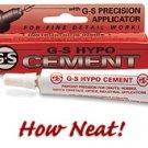 Hypo Cement Non-Porous Surfaces/Materials-CEMENT FOR PLASTIC/METAL HOn3/N