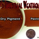 DARK RED BRICK Doctor Ben's Industrial Weathering Pigment 2oz Plastic/Wood/Metal