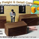 PLYWOOD/WOODEN CRATES-Large (3pcs) Scale Model Masterpieces S/Sn2/Sn3/1:64