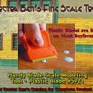 Handy Blade Scale Modeling Tool-DOCTOR BEN'S SCALE CONSORTIUM-*Plastic Blade*