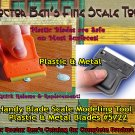 Handy Blade Scale Modeling Tool-Doctor Ben's SCALE CONSORTIUM- TWO Blades! HO/N