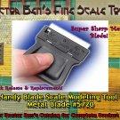 Handy Blade Single Edge Razor Modeling Tool-Metal Blade Doctor Ben's *NEW* HO/N