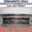 WEATHERING SEALER/FIX-A-TIVE 2oz PERMANENTLY SEALS PIGMENTS/POWDERS O/On3