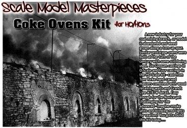 COKE OVENS KIT Scale Model Masterpieces/YORKE/ HO/HOn2/HOn30 *EXPANDABLE!