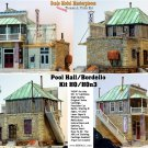 BORDELLO & POOL HALL Kit Scale Model Masterpieces/THOMAS A YORKE HOn2/HOn3/HOn30