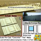 Tilt-Up Walls (G)-Single Large Elevated Window-Center (2pcs) - 20'x40' SMM-N/Nn3