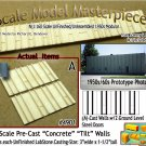 Tilt-Up Walls (A)-TWO SMALL GROUND LEVEL DOORS (2pcs) - 20'x40' SMM-N
