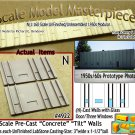Tilt-Up Walls (N)-One Glass Door/Three Windows-(2pcs) - 20'x40' SMM-N/Nn3
