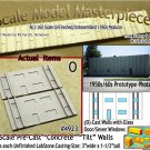 Tilt-Up Walls (O)-One Glass Door/Seven Windows-(2pcs) - 20'x40' SMM-N/Nn3
