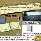 Tilt-Up Walls (HH)-1/2 Section w/Lg Door(2pcs-20'x20') SMM-N/Nn3