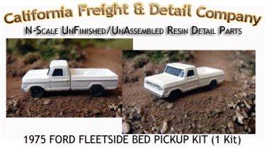 1975 FORD FLEETSIDE BED PICKUP KIT (1Kit) N/Nn3-Scale CAL FREIGHT & DETAILS*NEW*