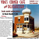 VIRG'S CORNER CAFE & DELICATESSEN--Scale Model Masterpieces 1:48/1:43 O/On3/On30