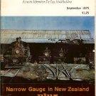 SEPTEMBER 1975 NARROW GAUGE & SHORT LINE GAZETTE MAGAZINE VOL1, #4 NG&SL GAZ