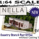 Nella's Grocery Country Store & Post Office Kit S/Sn3/Sn2/1;64 FREE POSTAGE!