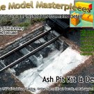 ASH PIT (1pc) ROUNDHOUSE/ENGINE SHED-YORKE/Scale Model Masterpieces Sn2/Sn3 1:64