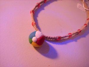 Beach Ball Hemp Necklace