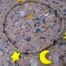 Stars and Moon Hemp Necklace