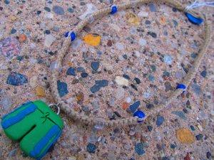 Beach Shorts Hemp Necklace