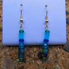 Blue & Green Earrings